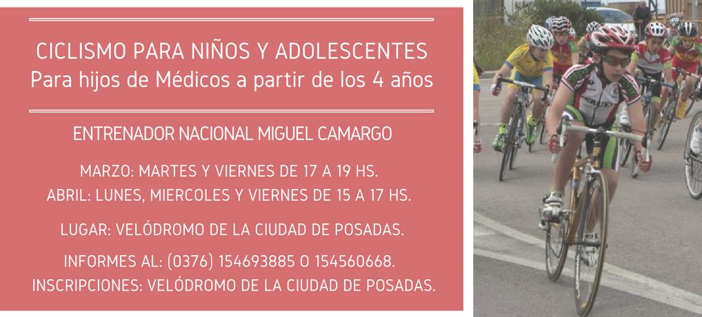 Ciclismo para Niños y Adolescentes