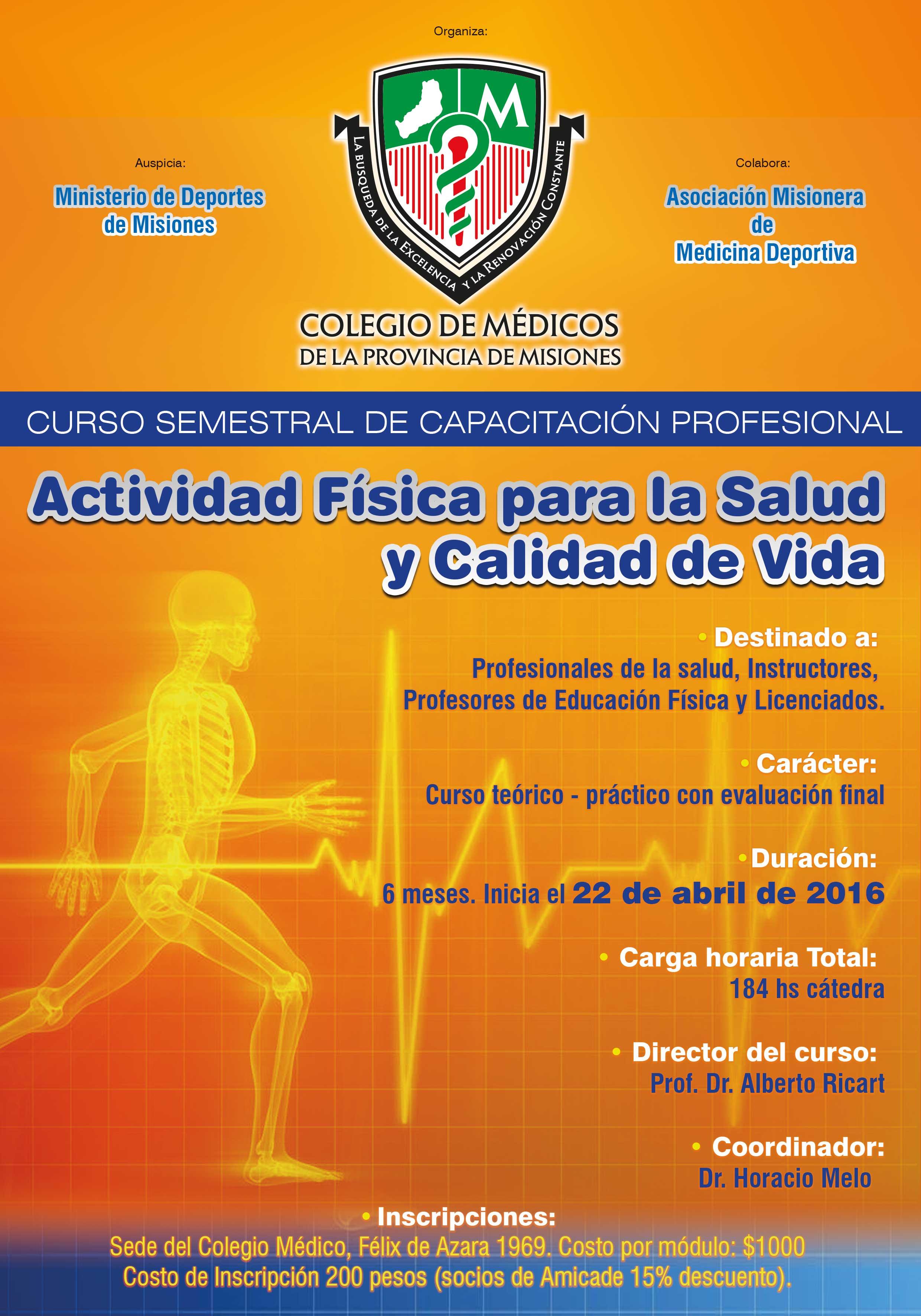 actividad fisica afiche