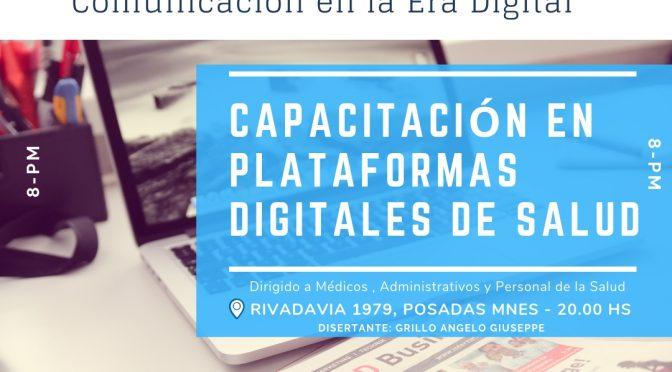 Capacitación en Plataformas Digitales de Salud